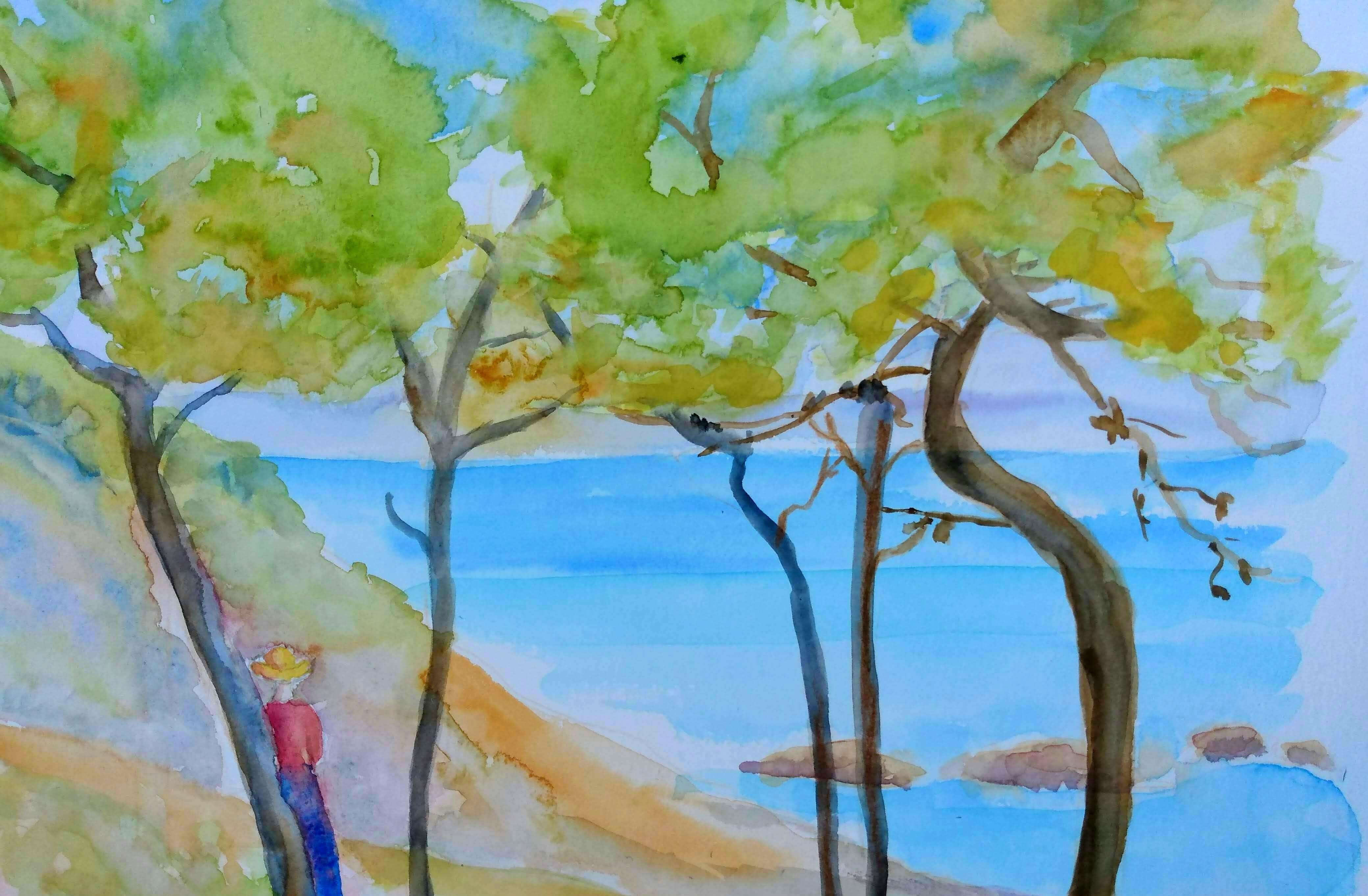 Janick. L, artiste-peintre. Dinan