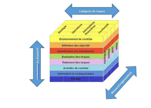 cube COSO contrôle interne modèle français