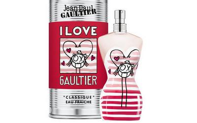 Flacon buste de Gaultier