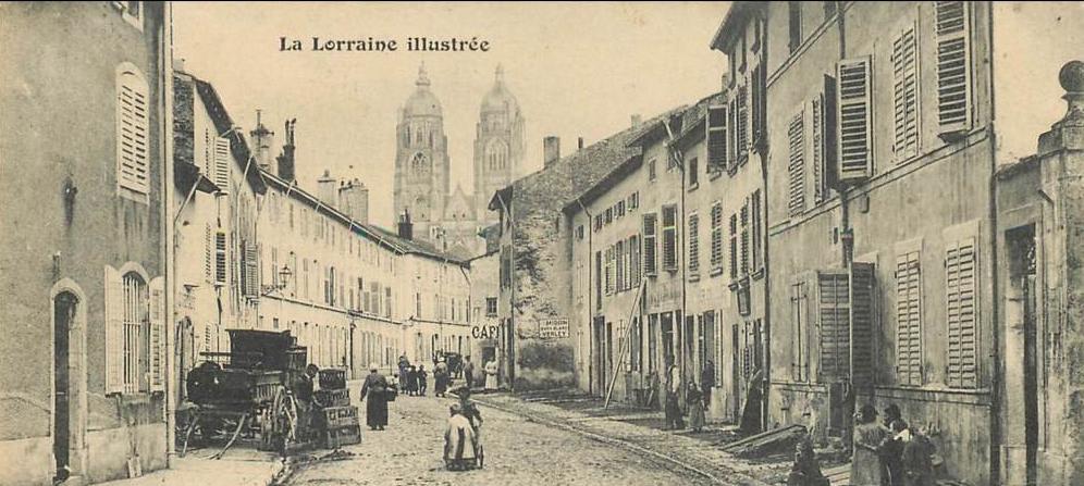 La Lorraine dans le temps