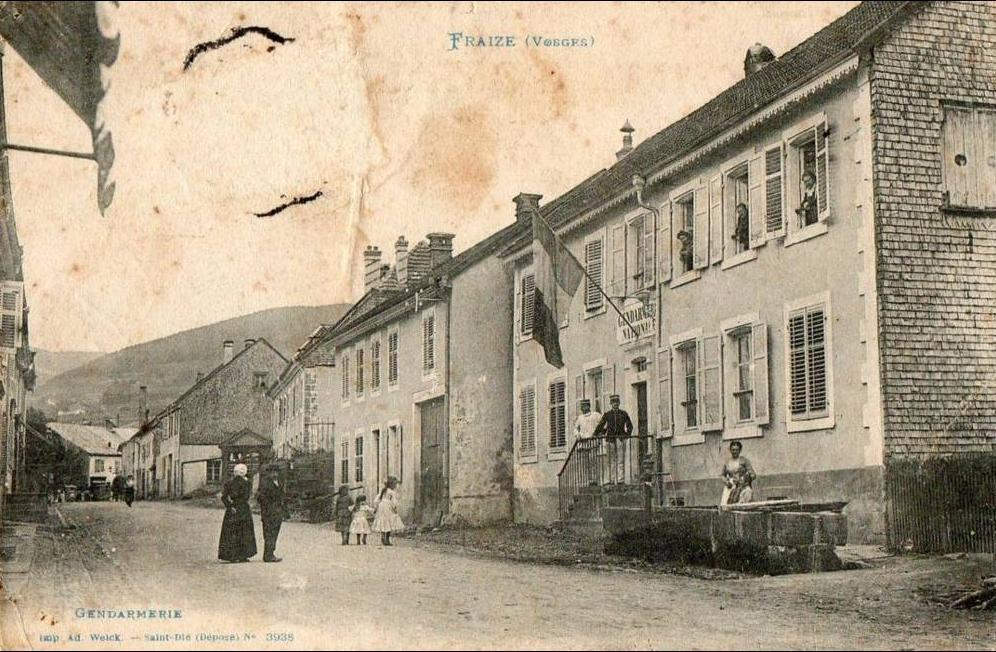 Fraize - gendarmerie