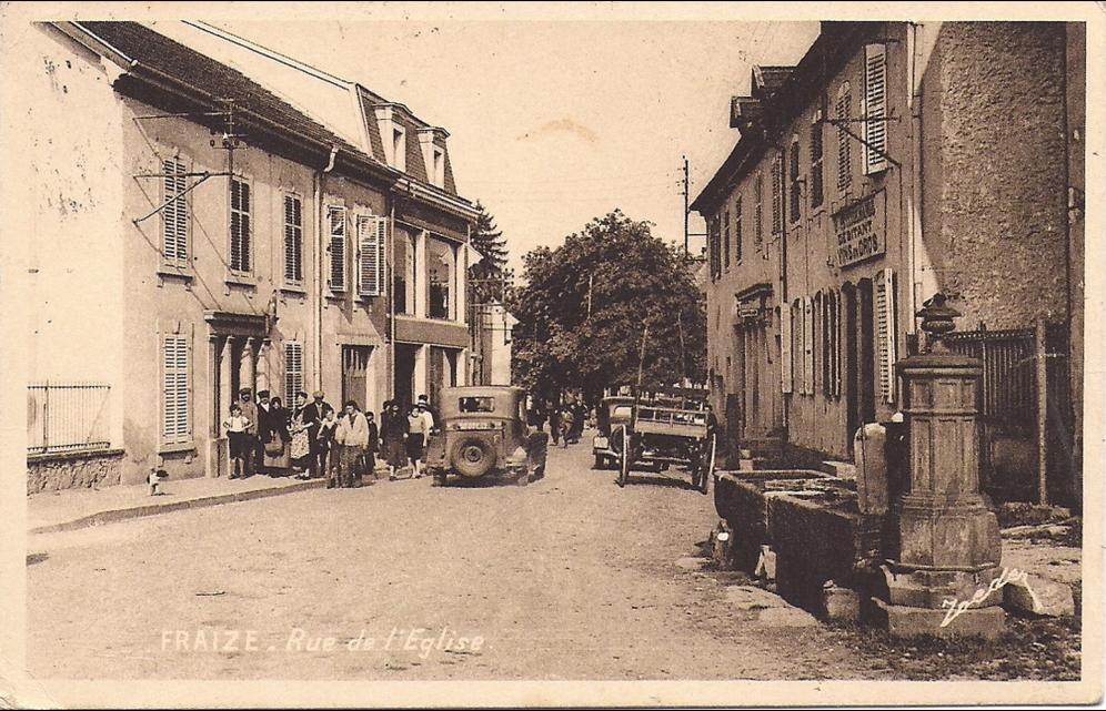 Fraize - rue de l'église