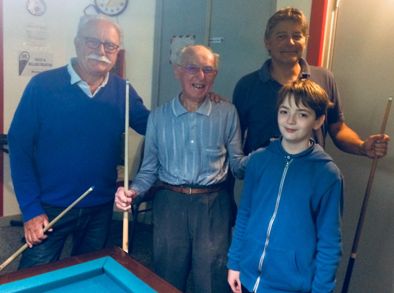 Notre Club avec toutes ses générations.