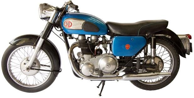 AJS 650 Modèle 31 1959