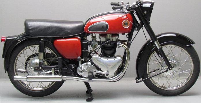 ARIEL 650 Huntmaster 1954
