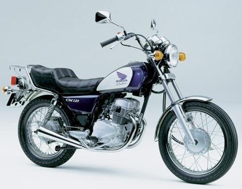 HONDA 125 CM 1982 à 2000