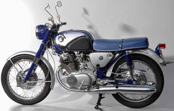 HONDA 250 CB 72 1961