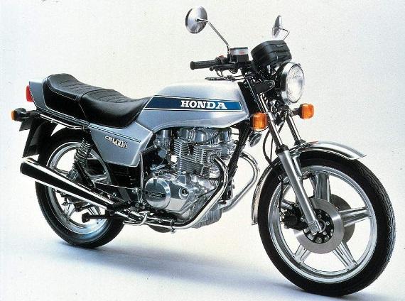 HONDA CB 400 N 1978 Le moteur, avec balanciers d'équilibrage et 3 soupapes par cylindre, équipe également la 400 T (twin) au look plus classique et existe également en version 250 cm3.