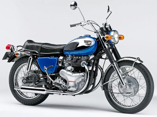 KAWASAKI W1 1966 (ex MEGURO)