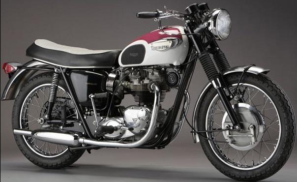 TRIUMPH 650 Bonneville T120 1959 L'une des motos les plus emblématiques de la production anglaise depuis les années 50