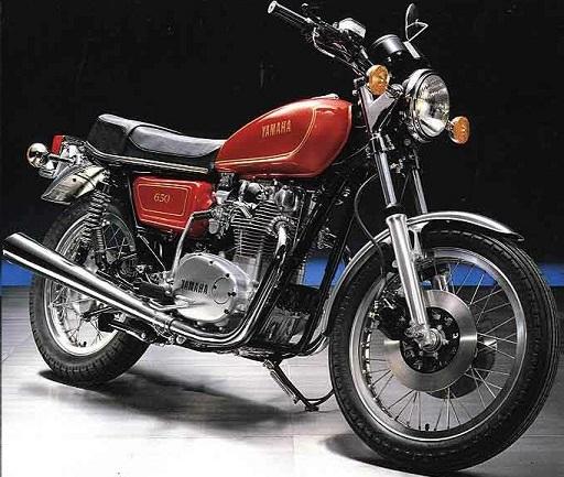 YAMAHA 650 XS 1969 à 1980