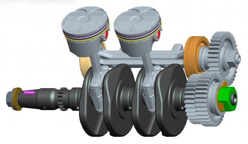 moteur BENELLI BN 302