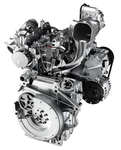 le seul bicylindre parallèle automobile actuel, le FIAT 875 cm3 twin air à arbre d'équilibrage et système MultAIir de contrôle électro-pneumatique des soupapes.