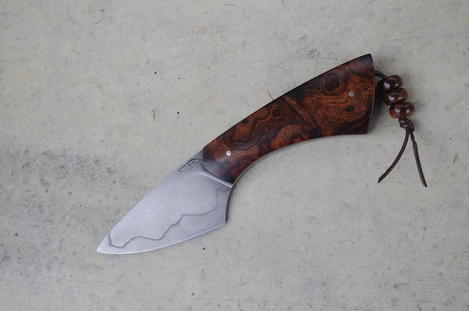 05 - Gnome 125sc - trempe sélective - loupe bois de fer d'Arizona.JPG