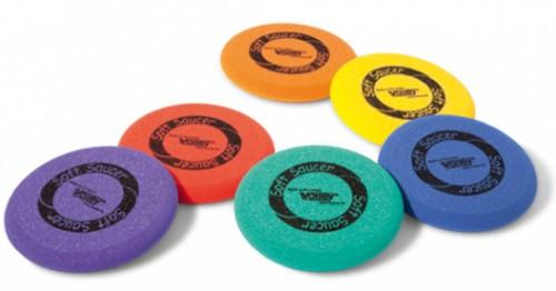 Frisbee en mousse Journée : 6 € Week-end : 9 €