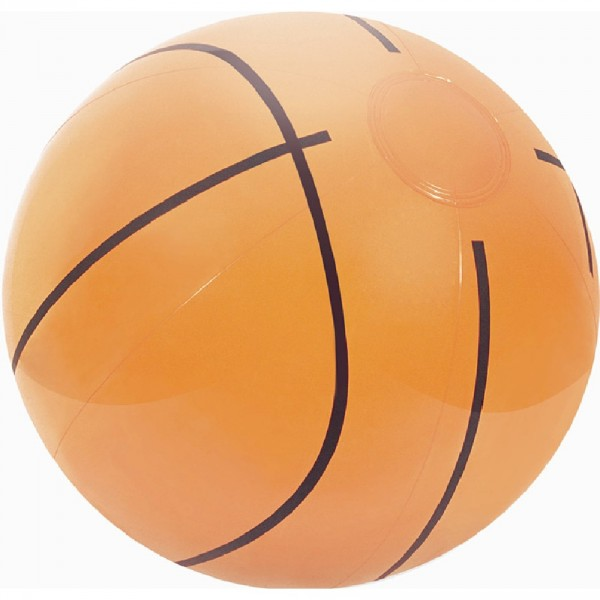 Ballon de plage forme basket, foot ou golf