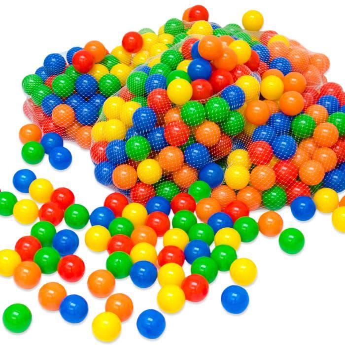 Balles à piscine multicolores    Ø 7cm 4000 balles Journée : 20 € Weekend : 30 €