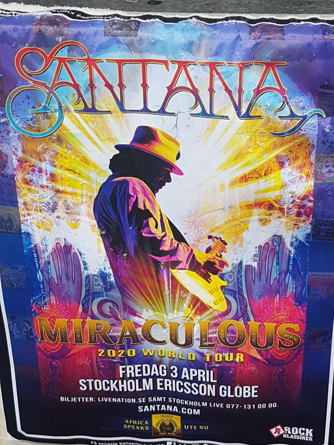 Santana et Europa dont Maverick est fan...
