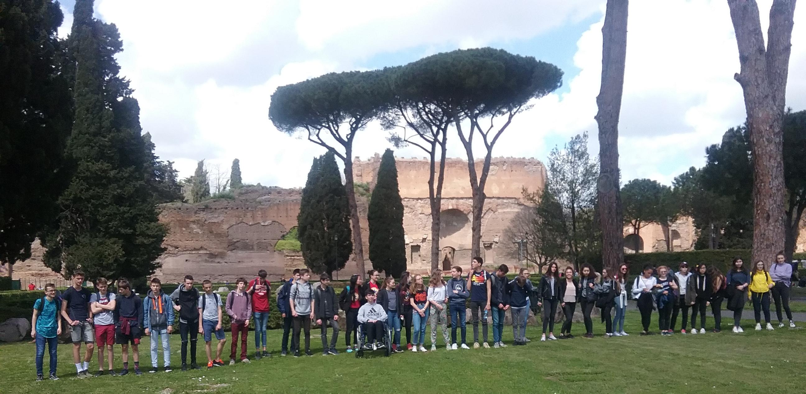 Les Bruzois à Rome