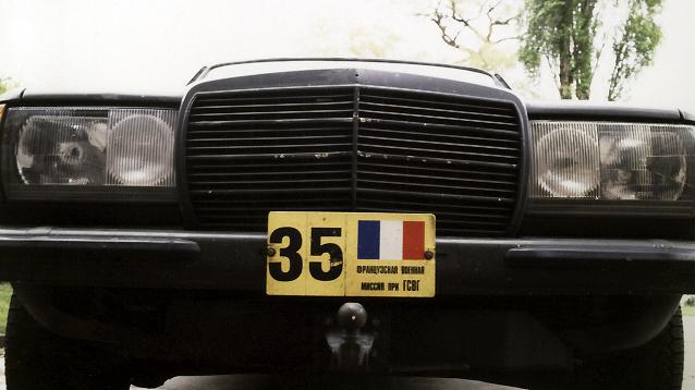 La voiture 35 du gérant