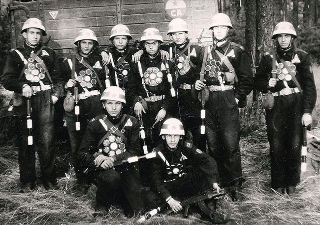 Groupe de jamonneurs