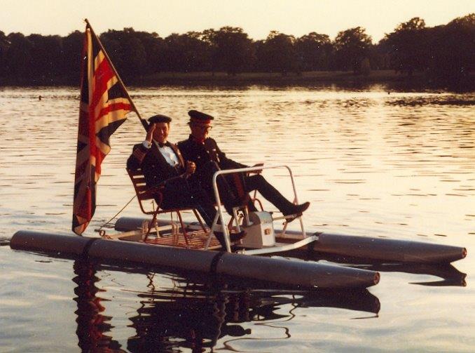 La Royal Navy...