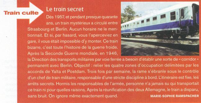 Un train, quel train?