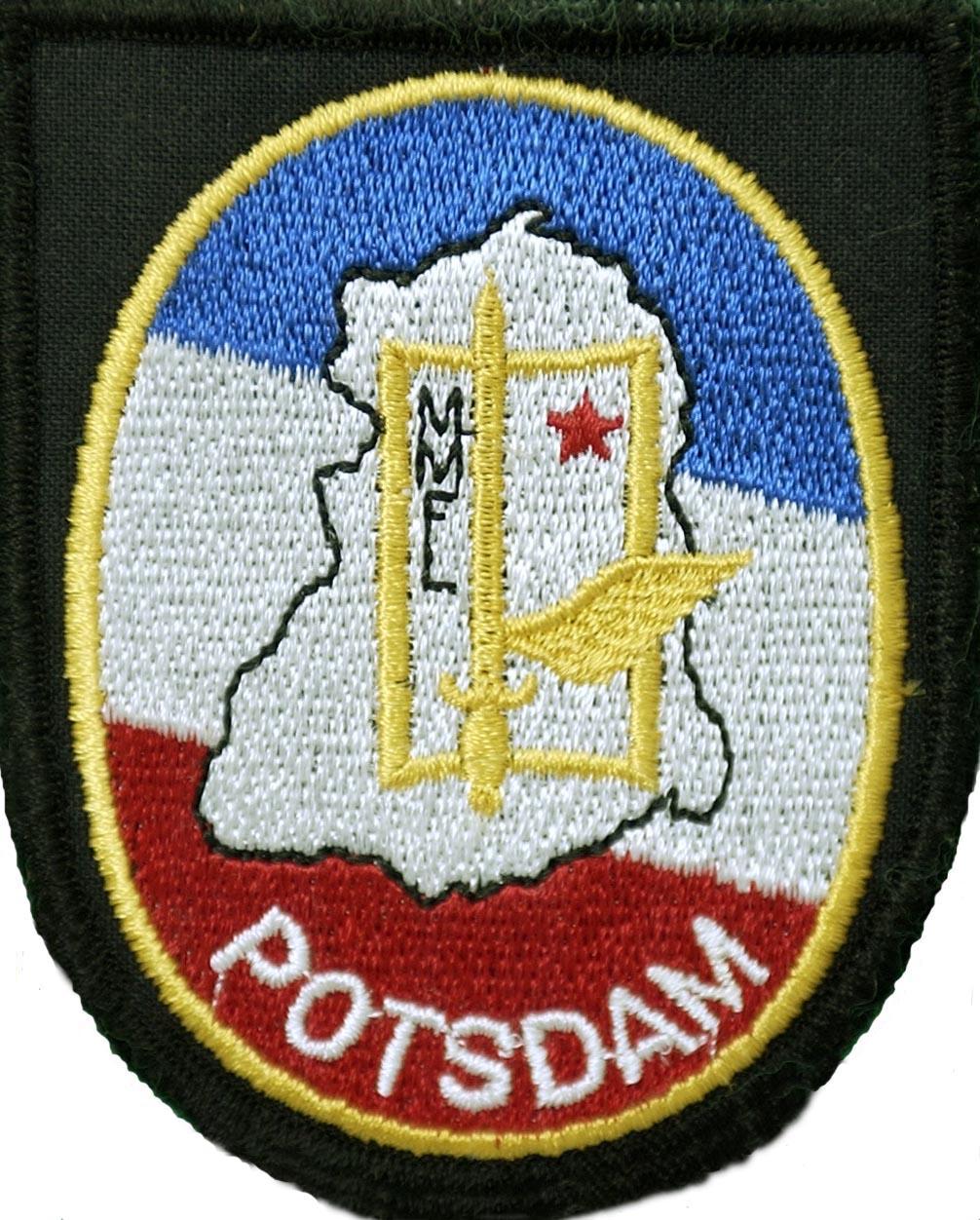 Badge d'épaule porté par les membres de la MMFL en Mission (années 80)