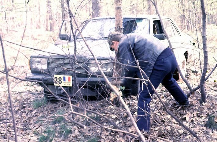 Opération camouflage dans les bois