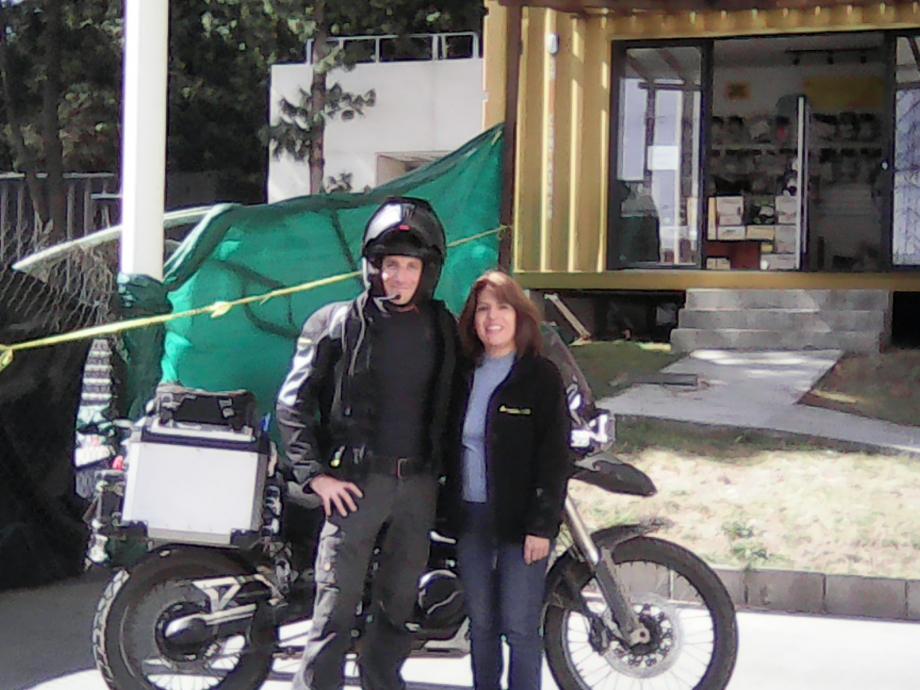 Equipe Touratech Toluca 19°16'56,82