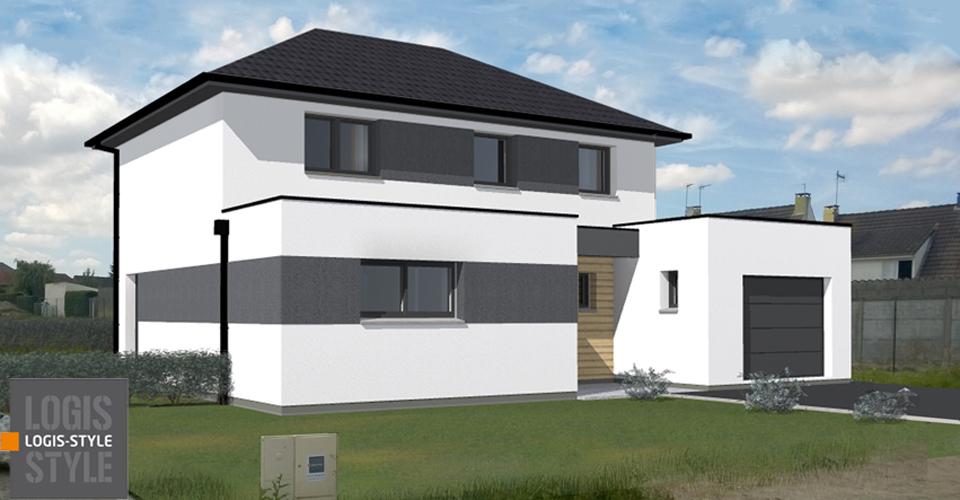 Notre maison LOGIS-STYLE...suivi de la construction
