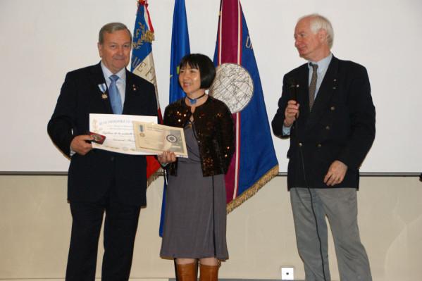 Ligue Universelle du Bien Public - remise de distinctions dans le ...  Gérard FAUGERE .