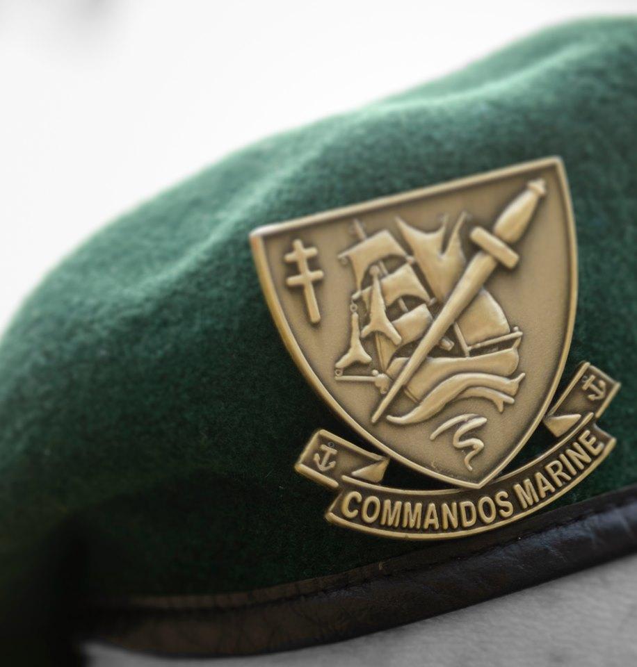 Hommage national pour saluer la mémoire des commandos marine Cédric de Pierrepont et Alain Bertoncello, morts pour la France.