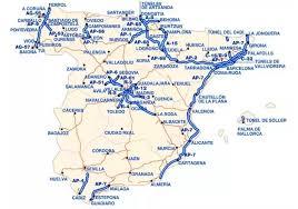 Autoroutes payantes en Espagne