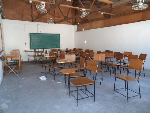 Salle de classe de l'université Lumière