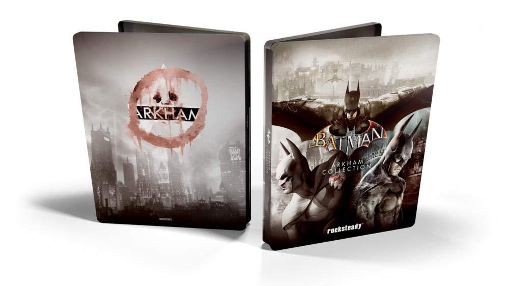steelbook batman arkham collection