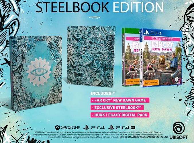 Steelbook Far Cry New Dawn FuturePak Edition Collector