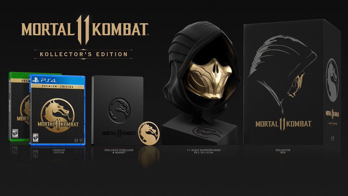 Steelbook FuturePak Mortal Kombat 11 Edition Kollector