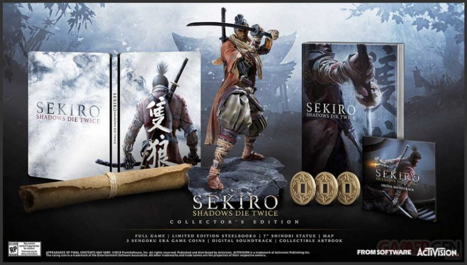 Sekiro : Shadows Die Twice - Edition Collector avec Steelbook