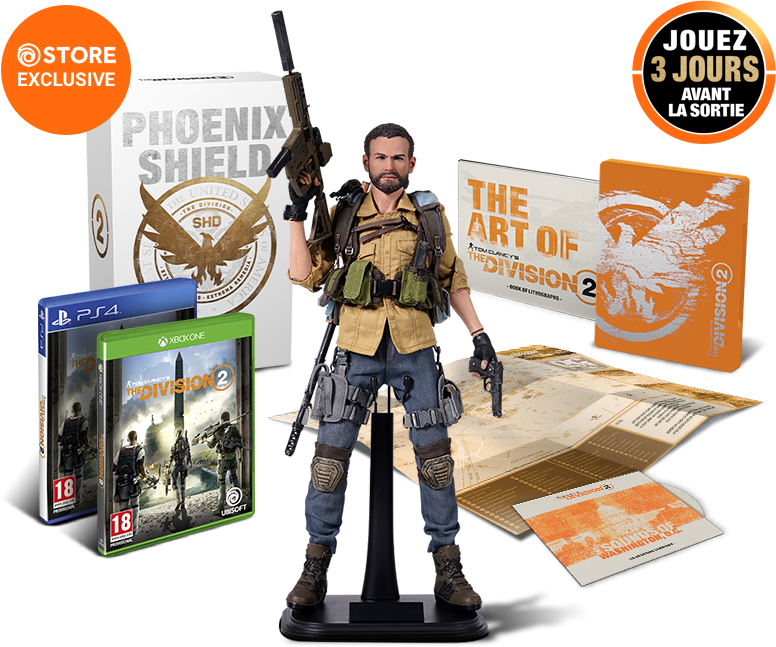 Le Steelbook qu'on devrait avoir en France - TOM CLANCY'S THE DIVISION 2
