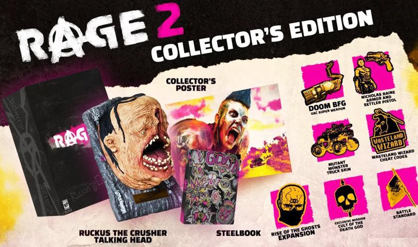 Contenu de l'Edition Collector