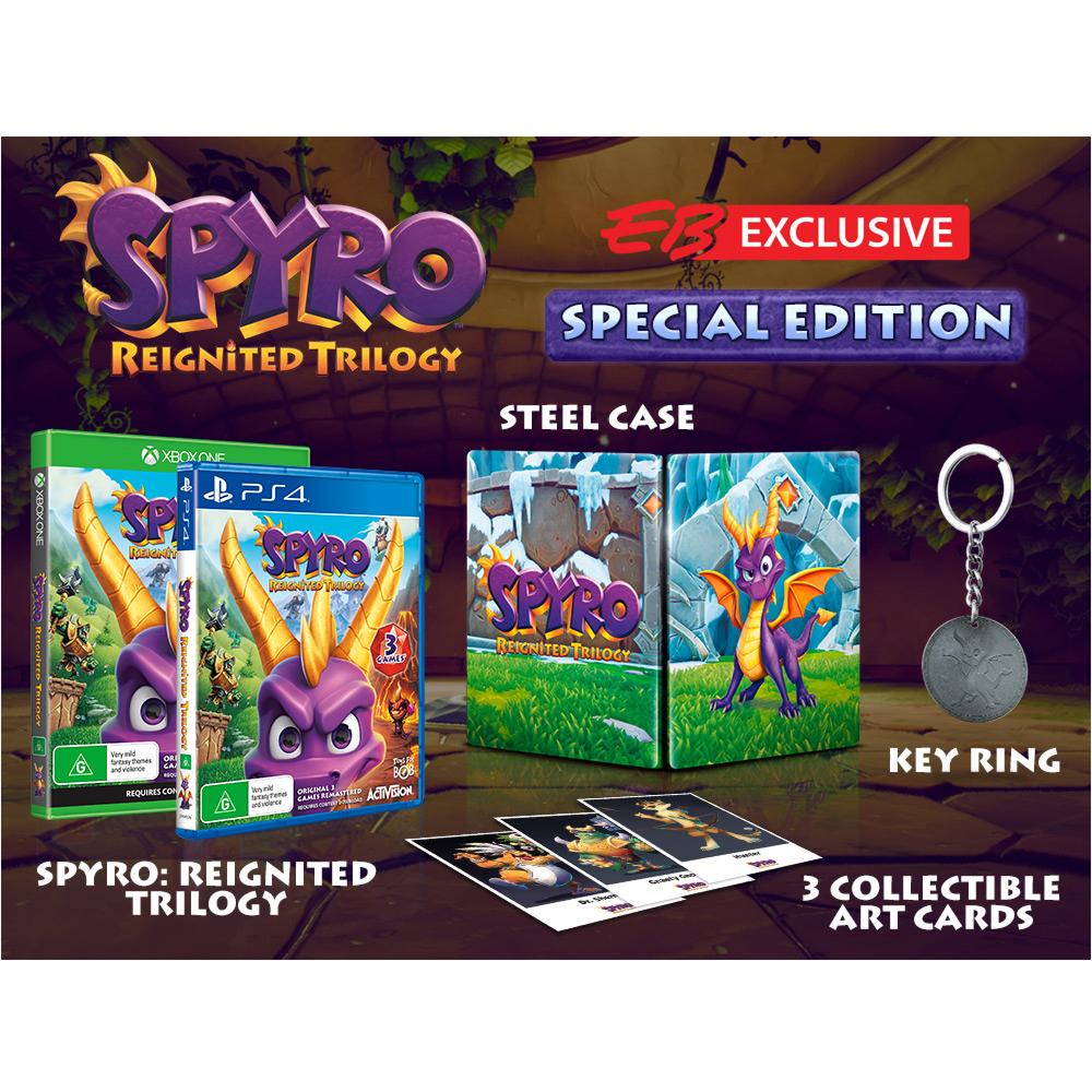 Spécial Edition exclusivement en vente  chez EB Games (Australie)