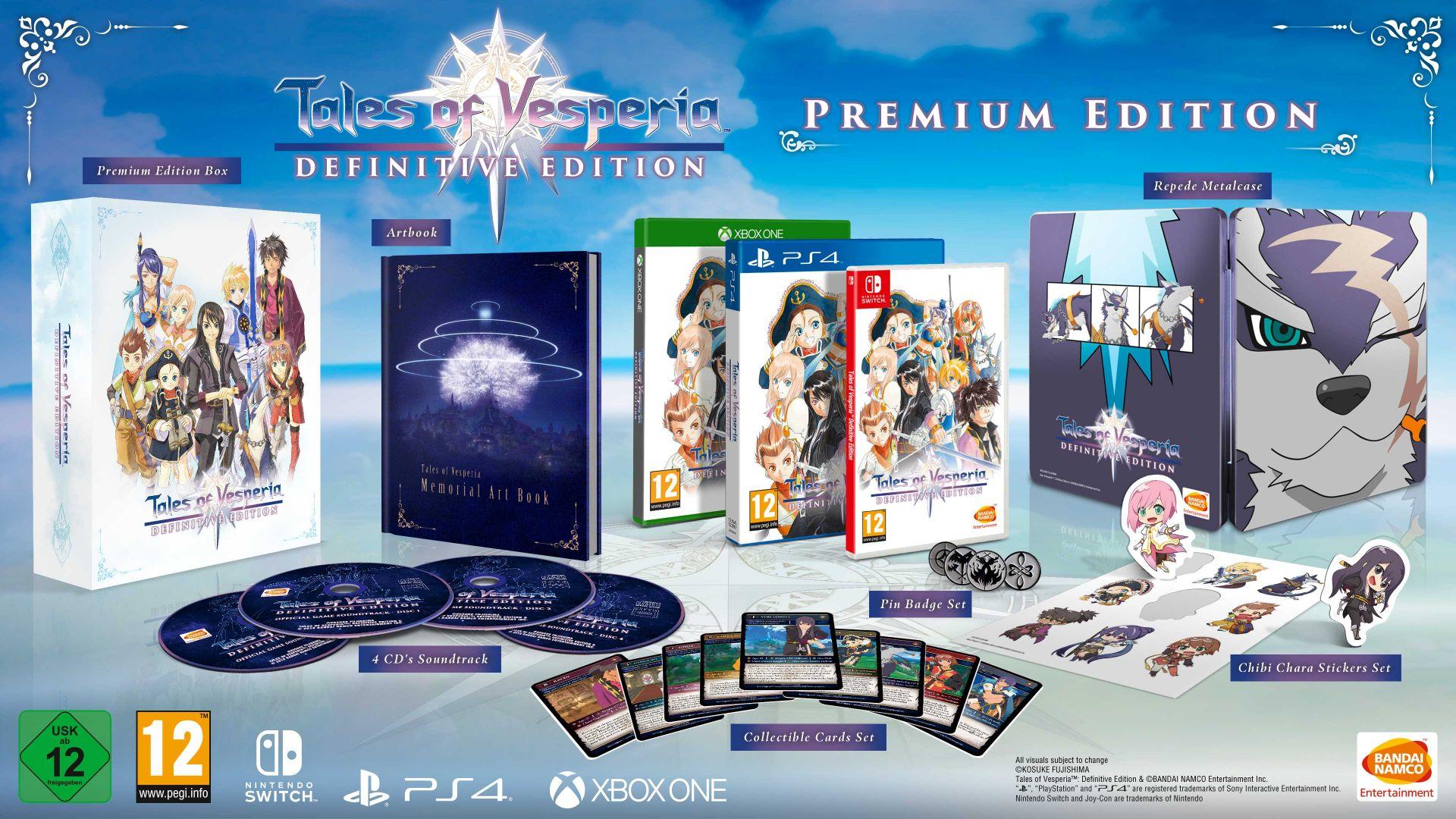 Premium Edition avec FuturePak - Tales Of Vesperia