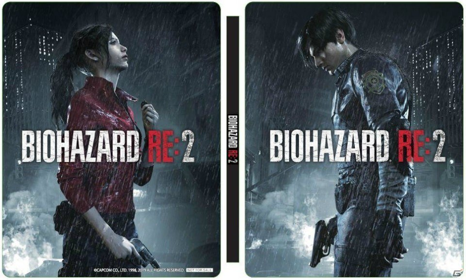 Visuel Provisoire Version Asiatique - Resident Evil 2