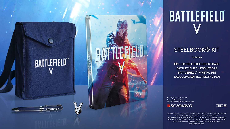 Kit Steelbook Battlefield V