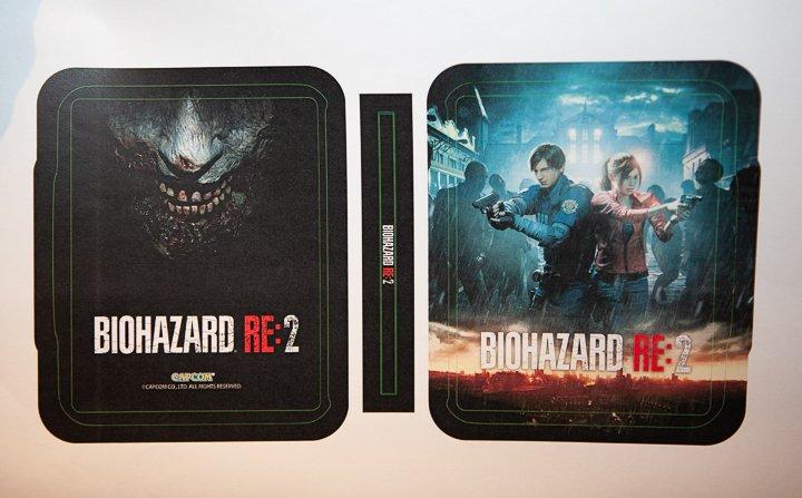 Visuel du Steelbook version Asiatique (Extérieur) - Resident Evil 2