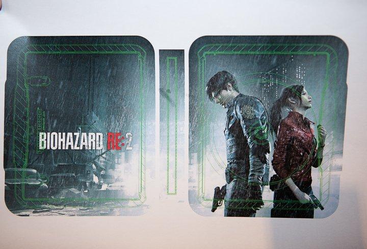 Visuel du Steelbook Version Asiatique (Intérieur) - Resident Evil 2