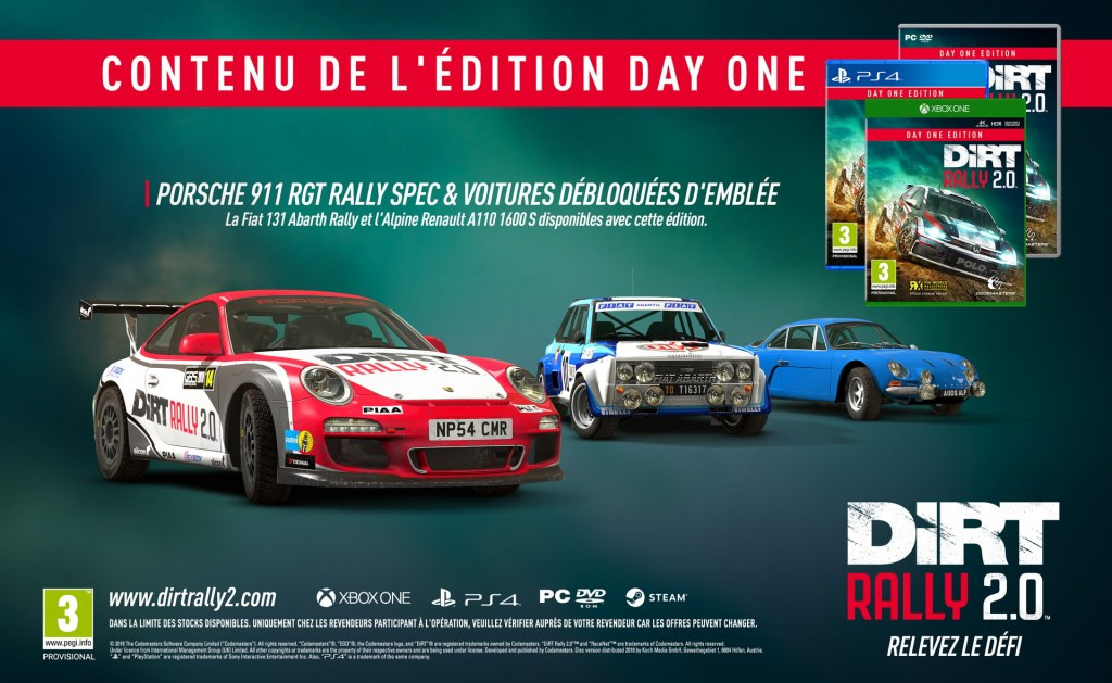 Steelbook Dirt Rally 2.0 - Xbox One - PS4