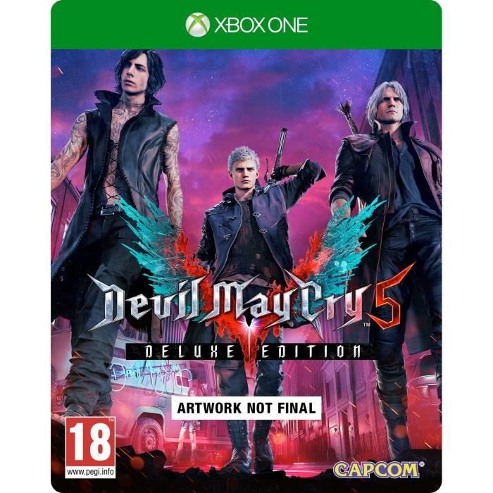 Devil May Cry 5 Deluxe Edition Steelbook