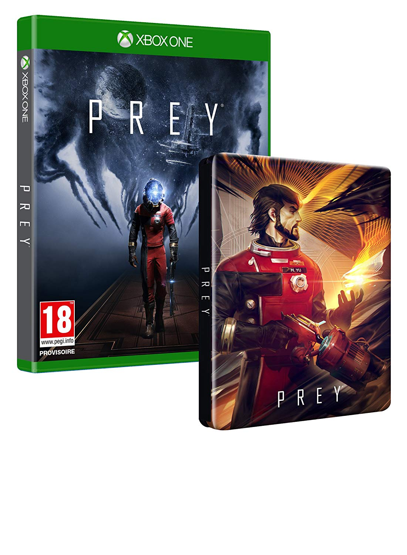 Le jeu Prey sur Xbox One + le Steelbook